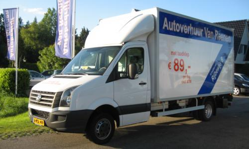 VW Crafter dubbel lucht